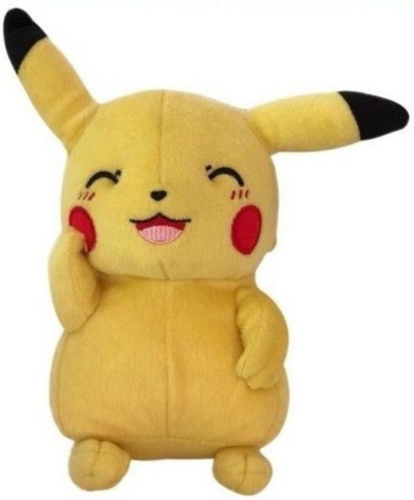 Pluche Pikachu knuffel knipoog (20 cm)