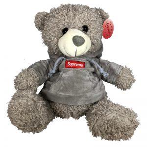 Teddy beer met trui Supreme 30cm