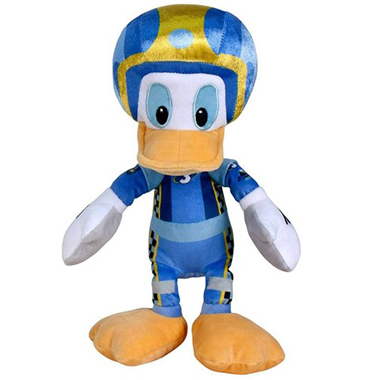 Disney Roadster Races Donald Duck Pluche 20cm