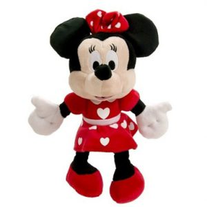 Minnie Mouse Hartjes Pluche 27 cm