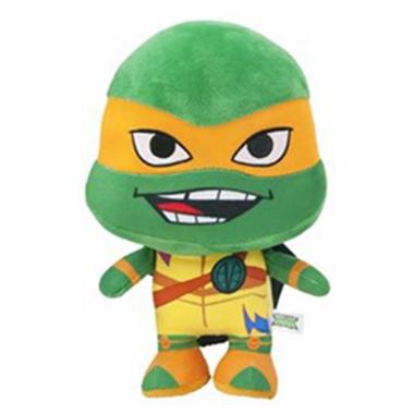 Ninja Turtle Michelangelo Pluche knuffel 28 cm
