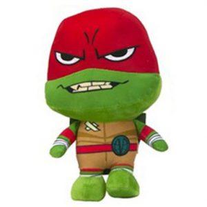 Ninja Turtle Rafaelo Pluche knuffel 28 cm