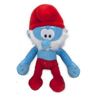 Grote smurf knuffel 38 cm