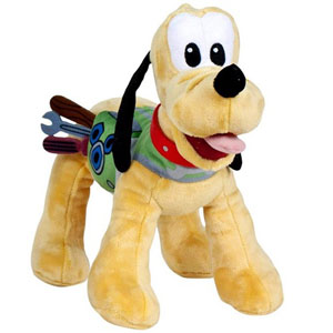 Disney Roadster Races Pluto Pluche 20cm