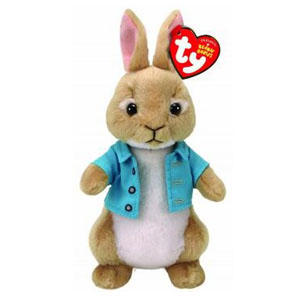 Peter Rabbit Pluche met Glitter ogen Cottontail 15 cm