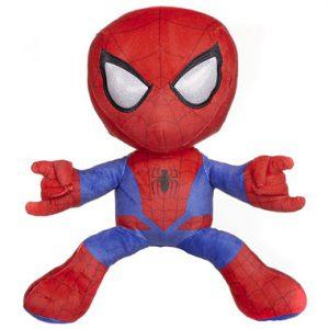 Spiderman pluche knuffel schietend 33 cm