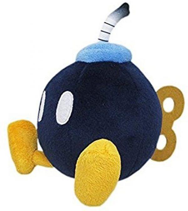 Super Mario Bros - Pluche Bob Omb 20cm