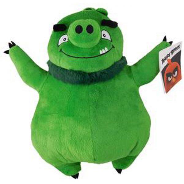 Angry Birds pluche Leonard (groen varken) 22cm