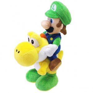 Luigi Riding Yoshi, Super Mario Bros - 21 cm