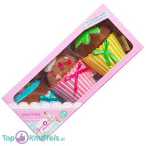 Sweet & Easy Pluche Knuffel Muffins 10x23 cm