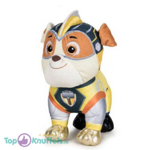 Mighty Paw Patrol Knuffel Rubble 30cm