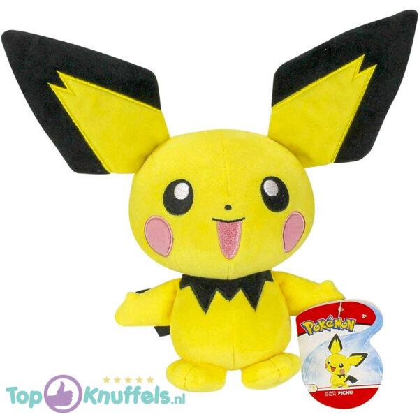 Pokemon Pichu Pluche Knuffel 25 cm