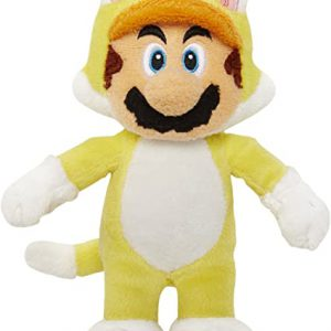 Mario Bross Plush Power Knuffel Geel 20CM