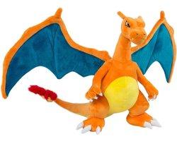 Pokemon Charizard pluche knuffel draak 30cm