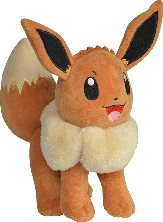 Pokemon Eevee Pluche Knuffel 20cm
