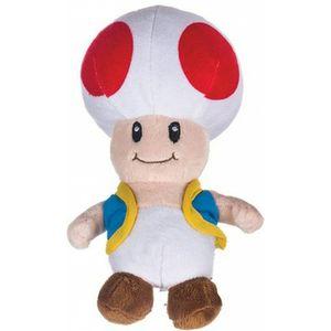 Super Mario Toad Pluche Knuffel 27cm