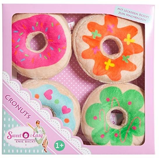 Sweet & Easy Pluche Donuts 21x21cm Knuffel