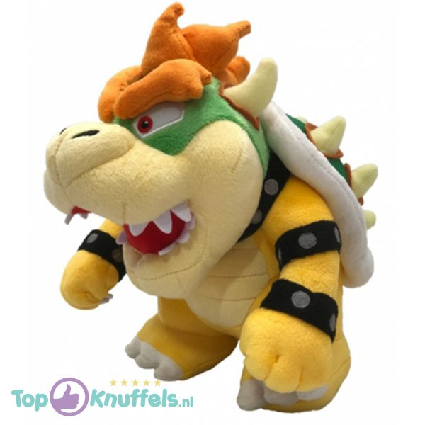 Mario Bros Bowser Knuffel 26cm