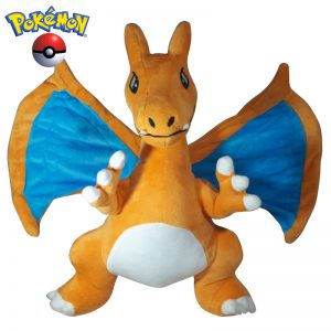 Pokemon Charizard pluche knuffel draak 32cm