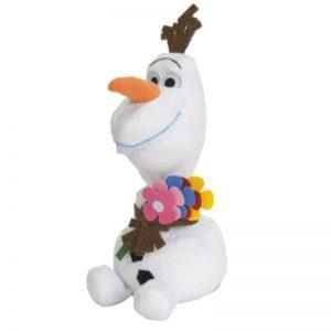 Disney Frozen Olaf Bloemen Knuffel 30CM