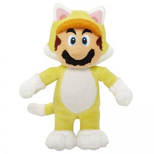 Mario Bross Plush Power Knuffel Geel 30CM