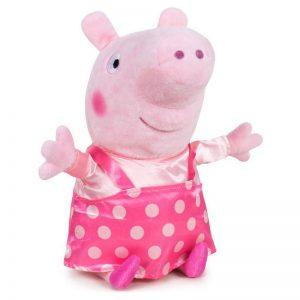 Peppa Pig Bolletjes Pluche Knuffel 20cm