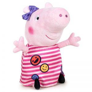 Peppa Pig Smiley Pluche Knuffel 40cm