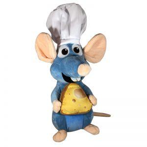 Disney Ratatouille met Kaas Pluche Knuffel 25CM
