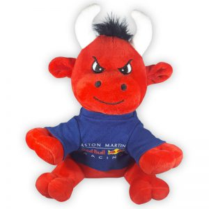Red Bull Racing Pluche Knuffel Stier 30cm