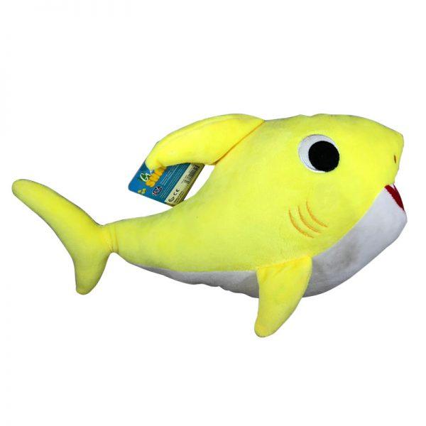 Baby Shark Geel Knuffel 40cm
