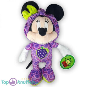 Pluche Disney Mickey Mouse & Friends Fruit Paars Knuffel 30 cm