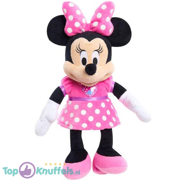Pluche Disney Junior Minnie Mouse Knuffel (Mickey Mouse Clubhouse) 35 cm