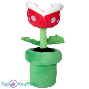 Mario Bros Pluche Piranha Plant Knuffel 27 cm