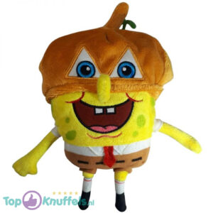 SpongeBob SquarePants Pluche Knuffel met muts 23 cm