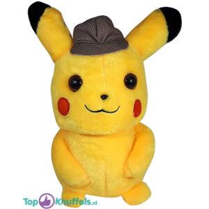 Pokemon Detective Pluche Knuffel Detective Pikachu 25cm