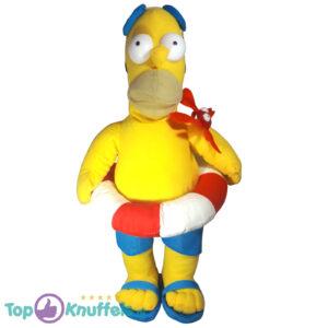 Pluche The Simpsons - Homer Simpson Zwemband Knuffel 45 cm