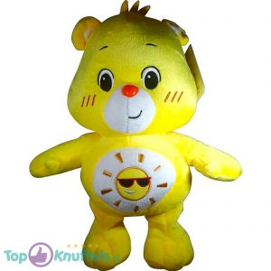 Care Bears Pluche Knuffel Geel 30 cm