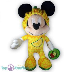 Pluche Disney Mickey Mouse & Friends Fruit Geel Knuffel 30 cm