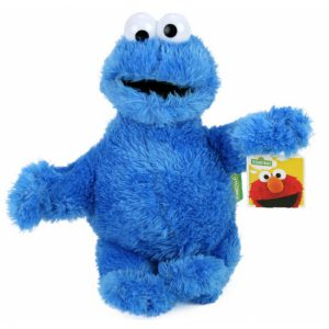 Pluche Cookie Monster Sesamstraat Knuffel 30 cm