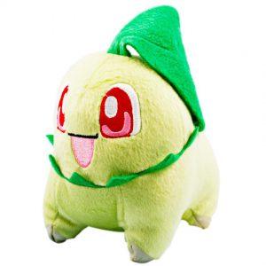 Pokemon Pluche Chikorita Knuffel 18 cm