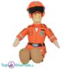 Brandweerman Sam Oranje Pluche Knuffel 25 cm