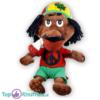 Pluche Rastaman Jamaica Rood