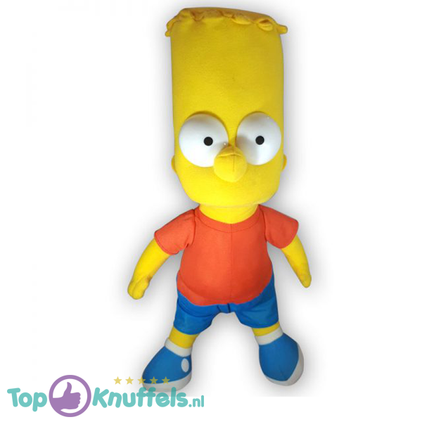 Pluche The Simpsons - Bart Simpson Knuffel 45 cm