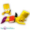 Pluche The Simpsons - Bart Simpson Zwemmen Knuffel 45 cm