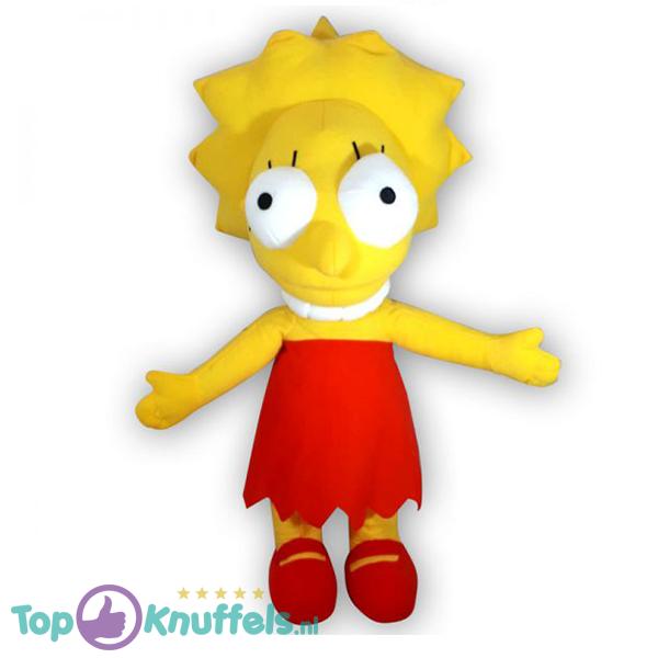 Pluche The Simpsons - Lisa Simpson Knuffel 48 cm