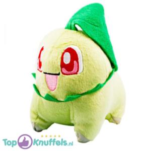 Pokemon Pluche Chikorita Knuffel 20 cm