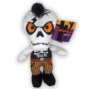 Pluche Creepiez Cartoon Zombie Wit Knuffel 30 cm