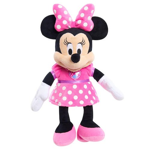 Pluche Disney Junior Minnie Mouse Knuffel (Mickey Mouse Clubhouse) 30 cm