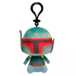 Star Wars Sleutelhanger Bobba Fett Pluche Knuffel 14 cm