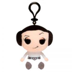 Star Wars Sleutelhanger Leia Pluche Knuffel 14 cm